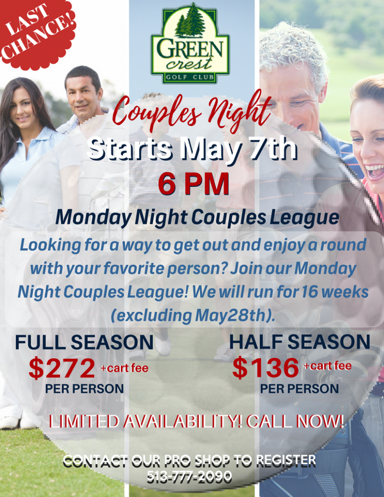 Green Crest - Couples Night
