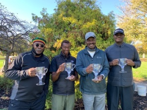 2020 GHM Champions -- Clarence Bivens, Ray Steele, General Freed, Tony Loving